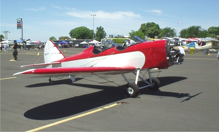 Hevle, Fly Baby with Rotec Engine