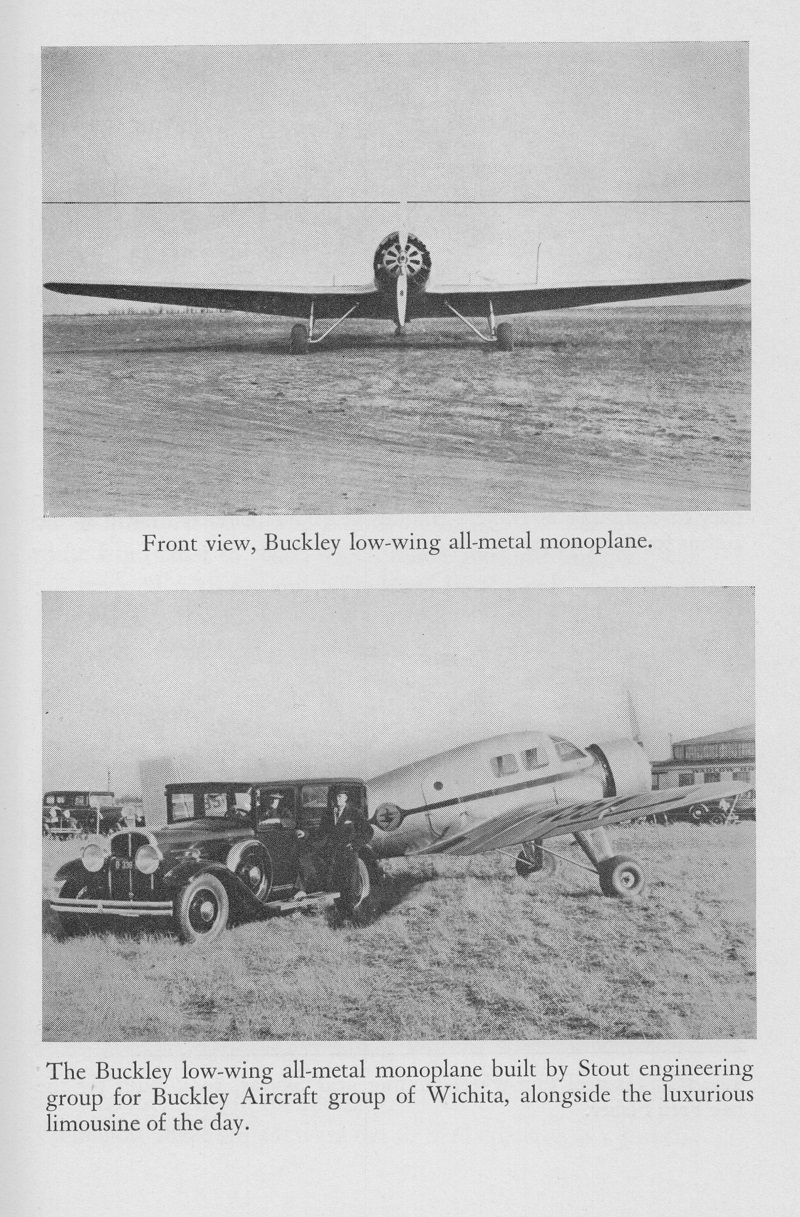1929-30 LC-4 Witchcraft 300hp P&W Wasp Jr info from