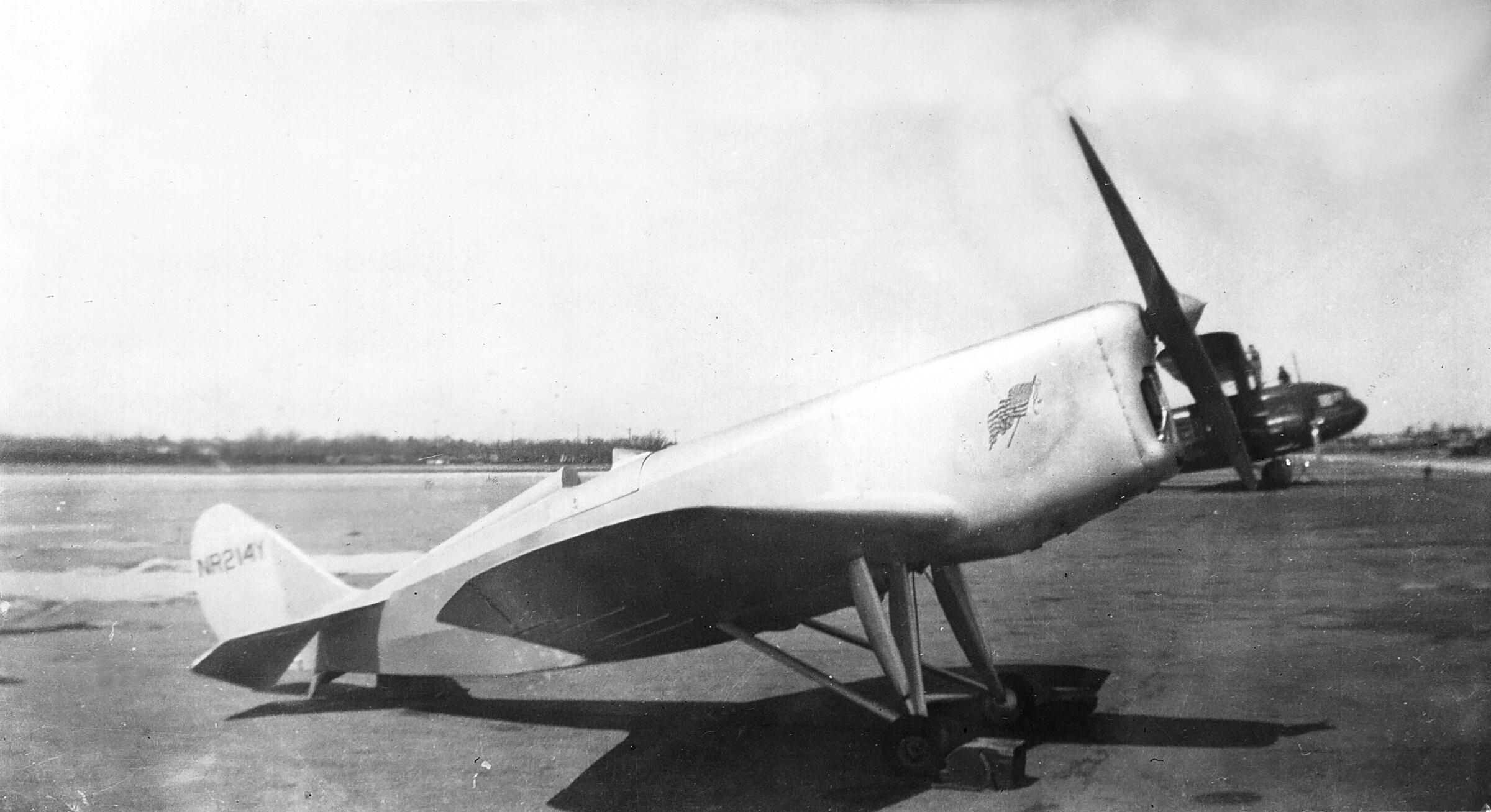 1934 Burrows R-5, NR214Y 120 hp Martin 333, four cylinder
